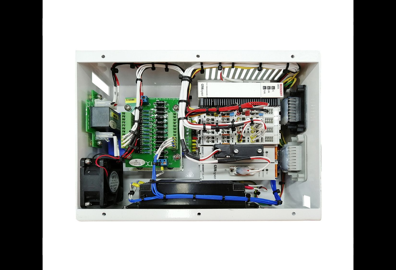 Master controller box build used in 1140V intelligent variable frequency all-in-one machine for mining.